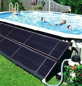 Homemade Solar Pool Heater